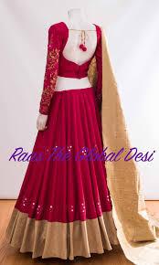 Lengha Suit Blouse Design Cc2554 In 2020 Choli Blouse Design Lehnga Dress Indian