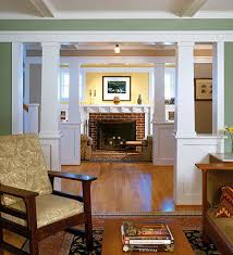 Woodwork Design For Living Room Woodwork Finishes For The Craftsman Home Arts Crafts Homes