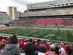 Ohio St Football Stadium Seating Chart Ohio Stadium Section 18a Home Of Ohio State Buckeyes
