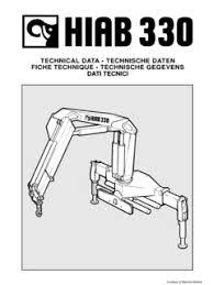 Hiab 330 4 Specifications Cranemarket