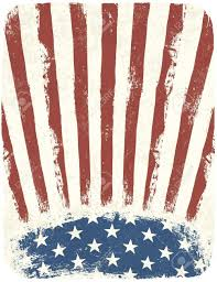 american template american patriotic poster background vintage style poster template