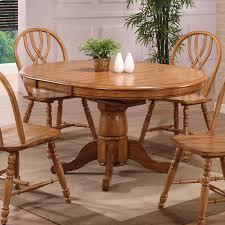 eci furniture 2150 missouri round single pedestal dining table