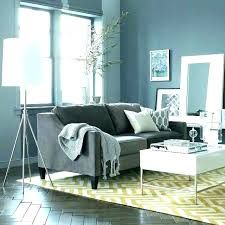 blue couch grey rug decor throw for gray living room ideas sofa new home improvement