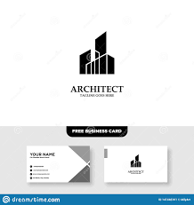 10 Free Business Cards Architecture Company Construction Architect Vector Logo