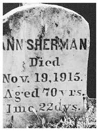 """Priscilla Robbins """"Ann"""" Pittsley Haskell Sherman (1843-1915) - Find A Grave  Memorial"""