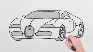 Bugatti coupe by serkan budur @serkan_budur #cardesign #car #design #carsketch #sketch #bugatti #hypercar #luxurycar #bugatticlub. How To Draw Bugatti Sports Luxury Car Easy Drawing Cars Basit Bugatti Spor Araba Cizimi Youtube