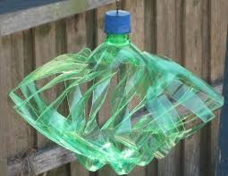 plastic bottle wind spinner