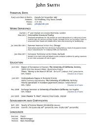 High School Student Resume Examples Unique Resume For College