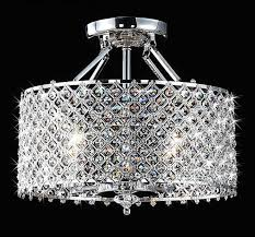 chic modern round crystal chandelier black and chrome ceiling fan round bronze crystal chandelier