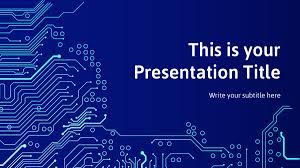 Powerpoint Circuit Theme Free Circuit Board Theme Powerpoint Template Designhooks