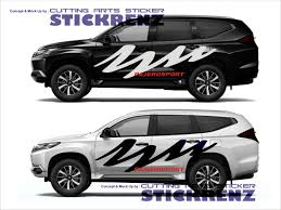 Pajero Sticker Design Pin On Banteng Pajero