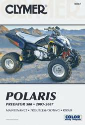 polaris predator 500 wiring diagram polaris image predator atv 2003 2007 service repair manual on polaris predator 500 wiring diagram