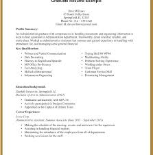 Sample Resume With No Work Experience College Student Resume No Work