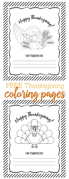 Free Thanksgiving Coloring Pages Just Download
