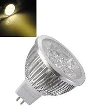 mr16 4w warm white high power focus 4 led spot lamp bulbs ac dc 12v