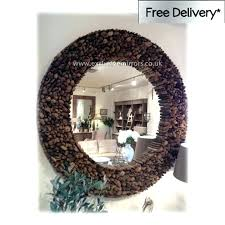 wall mirrors round wood wall mirror frame lovely decoration large metal framed mirrors w