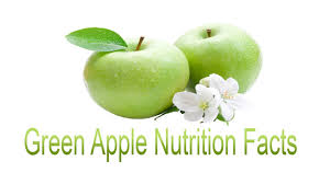 Green Apple Nutrition Chart Green Apple Nutrition Facts Youtube