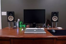 speakers desk. ikea desktop speaker stands   diy pinterest speakers desk