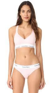Lightly Lined Bralette Calvin Klein Calvin Klein Light Pink Bra Lightly Lined Bralette Lift