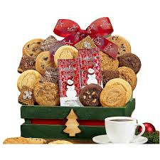 wine country gift baskets two dozen cookies and brownies gift box