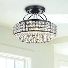 flush mount drum light flush mount drum chandelier antique black drum shade crystal semi flush mount flush mount drum light