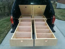 tacoma sleeping platform truck bed campera truckpickup