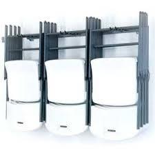 storing folding tables | folding chair storage rack garage organizaer mb 23  monkey bar storage .