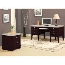 office desks with drawers. britney 6drawer white marble top office desk desks with drawers s