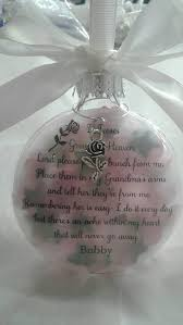 Bauble Display Stand Memorial Bauble If Roses Grow In Heaven In Memory Christmas 49