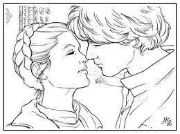 Small Picture Princess Leia Coloring Page Coloring Home