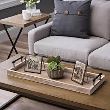 Decorative Trays For Living Room Rustic Wood Runner Tray Decorative trays Trays and Rustic wood 80