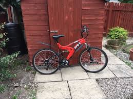 halfords trax tfs1 mountain bike