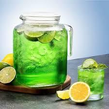 bormioli rocco frigoverre glass jug with hermetic lid spout