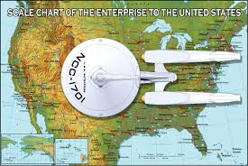 Enterprise Size Comparison Chart Ok Ok Here Is The Real Size Of The Enterprise In
