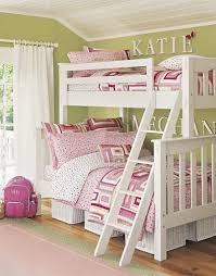 two girls bedroom ideas. Attractive Bunk Bed For Girls Ideas Amp Room Two Pottery Barn Kids Bedroom