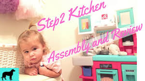 step2 contemporary chef kitchen in pink assembly and review