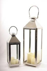 garden candle lanterns chrome. lanterns \u0026 hurricane vases : chrome lantern (medium) garden candle d