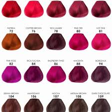 28 Albums Of Ion Red Hair Dye Color Chart Explore