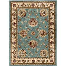 timeless abbasi light blue 11 ft x 15 ft traditional area rug