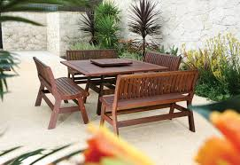 image of wood patio furniture clearance