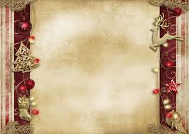Christmas Peace Decoration Backgrounds For Powerpoint Holiday Ppt