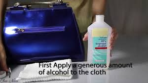 how to clean and maintain patent leather or vernis leather bags from cleo nicci