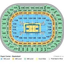 The Tobin Center Seating Chart Studious Pepsi Center Seat Numbers Pepsi Center Seating