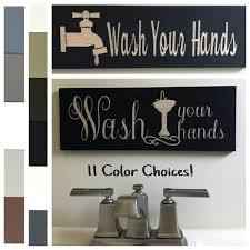 bathroom signs decor image 0 bathroom signs decor hobby lobby