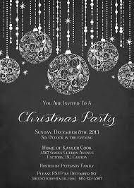 Free Printable Christmas Invitation Templates For Word Black White