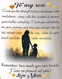 Love My Son Quotes Inspiration Good Morning Son Quotes Love My Son Mother Son Bond For My