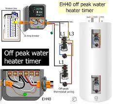 how to wire wh40 water heater timer how to wire water heater thermostats · color code wire · larger image off peak wiring