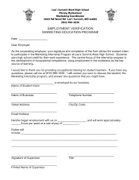 Employment Verification Templates Employment Verification In Word And Pdf Formats
