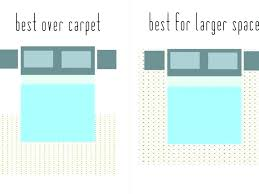 extravagant standard area rug sizes size for living room unique