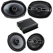 speakers car. car speaker bluetooth streming set bundle combo with 2 kicker 41ksc654 6.5 inch 2-way speakers e